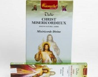 Box of 15 gr Aromatika Christ merciful amber incense sticks