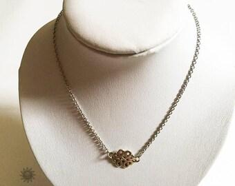 a fancy Buddhist pendant necklace