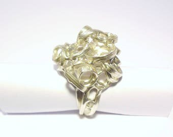 """Ring ball """"emberlificotis"""" Sterling Silver 2"""