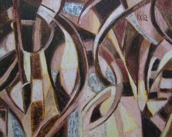Butterflies - original abstract inspiration Board
