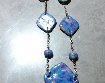 Necklace diamonds and pearls original