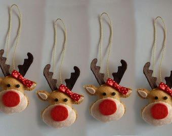 Reindeer to hang on the Christmas tree