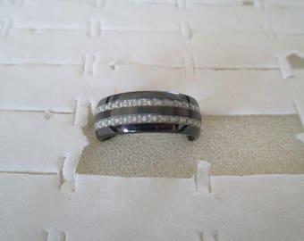 Ceramic Ring man or woman