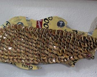 Coors Striper Bottle Cap Fish