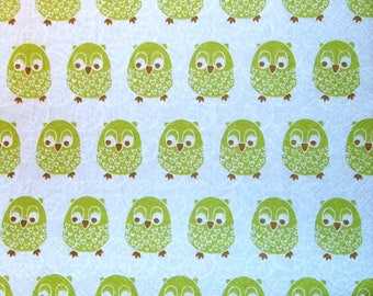 Napkin COLLECTION the owls and the owls 174 size 33 X 33