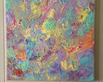 Pastel Impressionist Style Oil Painting
