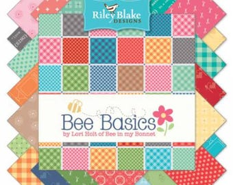 Bee Basics by Lori Holt for Riley Blake 5in. stackers