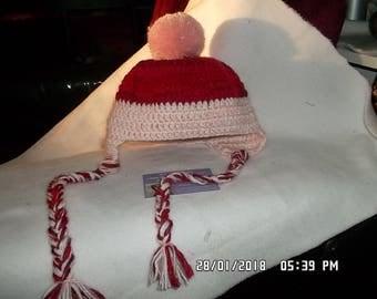 Mountain baby bonnet