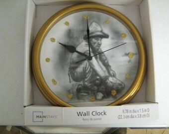 Gold Miners Clock