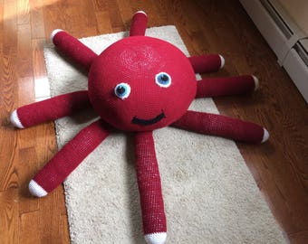 Floor pillow octopus