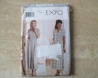 pattern dress size 40 size 42 size 44 Butterick