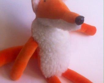 Kids plush Fox minky velour