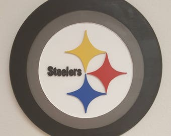 Custom NFL logo plaque
