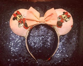 Pink Minnie Mouse Ears