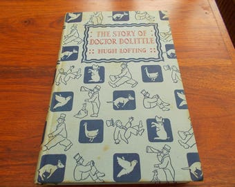 hb 1st ed but 25th imp 1958 The story of Doctor  Dolittle
