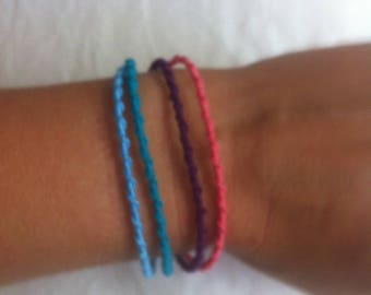Knotted bracelet 4 in 1