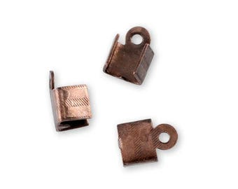 2 nuts copper aged 0% nickel free 5 x 7 mm