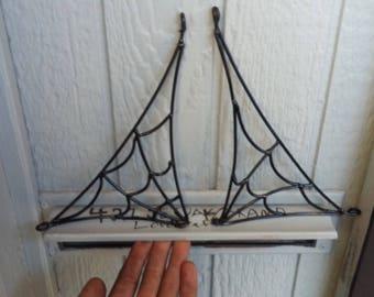 Custom Metal Spider Webs