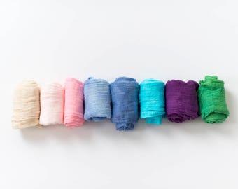 Newborn Cheesecloth Wraps