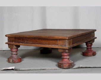 Vintage Low Teak Coffee Table