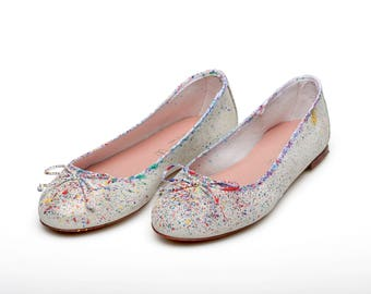 Color Explosion: flats/ballerina shoes