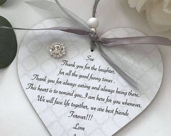 Personalised Friendship Heart Gift P270