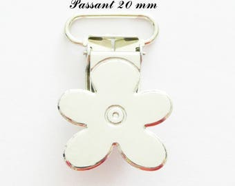 40 clips metal flower pacifier pacifier blanket from 20 mm