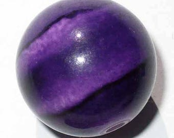 1 Pearl marbled purple 20mm AR24V