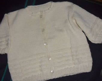 Cardigan for baby 6 months