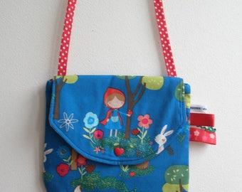 """the little Red Riding Hood"" girl bag"