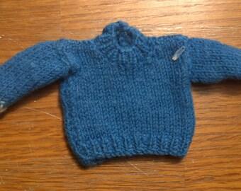 Vintage 60s Barbie Ken knit sweater,vintage Ken clothes outfit