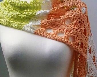 Summer scarf design crochet ladies gift