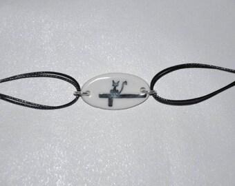 Limoges porcelain bracelet