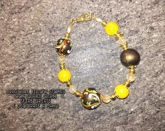 Yellow Stones Bracelet