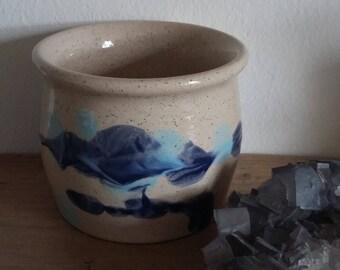 stoneware mug, mug, Bowl