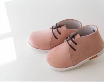 Handmade, leather, baby shoes
