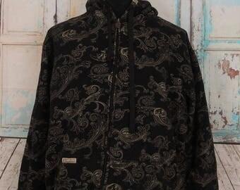 Vintage EKO Unlimited Hoodies Sweatshirt, Hip Hop Street Wear Top Tee, Size XL
