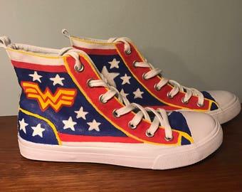 Wonder Woman High Tops