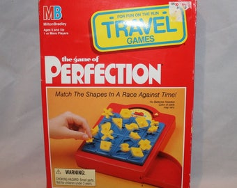 The game of Perfection Travel Games