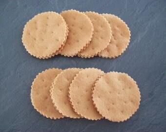 handmade 3 cookies Prince fragrance choice of felt