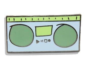 90's Radio Hard Radio Enamel Pin