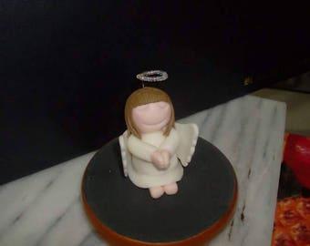 Angel gumpaste cake topper