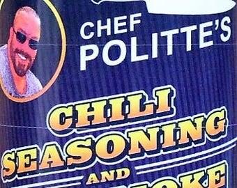 Chef Politte's Chili Seasoning and Dry Smoke Rub
