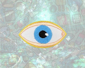Eye Patch Back Patch Iron on Patch Sew On Patches