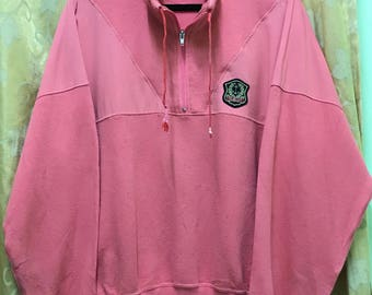 Rare!!! Champion Sweatshirt Pullover Zipper Sweater