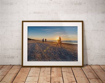 Metal Print - Baltic Sea, Photography - Metalic Aluminum Print, Fine Art, Wall Art, Nature Print, Home Decor, Photography