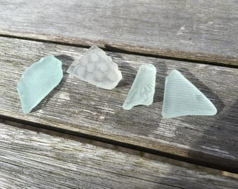 Textured scottish sea glass