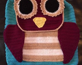 Adorable Crochet Owl Bag