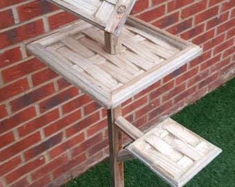 Made to order bird table