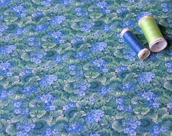 American patchwork PETER PAN blue and green fabric